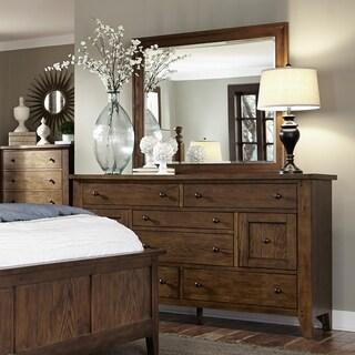 Liberty Heathstone Rustic Oak 8-drawer Dresser