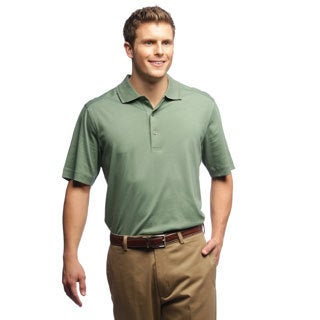 Callaway Men's Luxury Cotton Sage Golf Polo