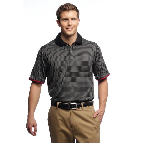 Callaway Men's Gravity Stripe Black Polo Shirt