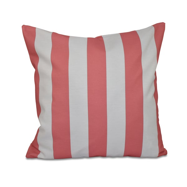 16 x 16-inch Classic Stripes Decorative throw Pillow 13098395
