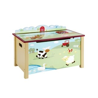 Farm Friends Toy Box