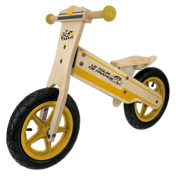 Tour de France Kid's Wooden Balance/ Running Bike