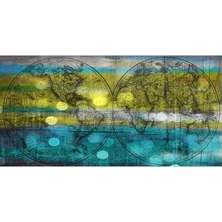 Marmont Hill Art Collective 'Aqua Globes' Canvas Art