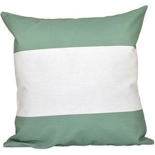 16 x 16-inch Bold Stripes Decorative Throw Pillow