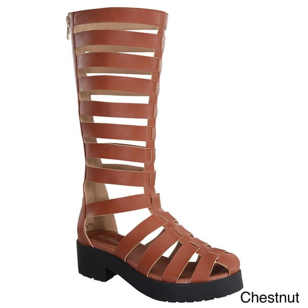 FOREVER KENDAL-2 Women's Keen High Gladiator Sandals
