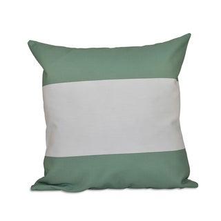 18 x 18-inch Bold Stripes Decorative Throw Pillow