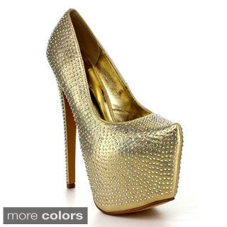 DELICACY HIGH-25 Women's Stiletto Platform Pumps