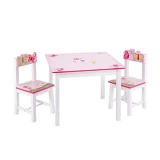 Kidkraft Heart Table And Chair Set 15562151 Overstock