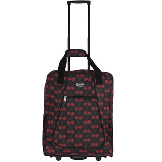 Calpak 'Big Eazy II' Cherry Lane 20-inch Rolling Shopping Tote Bag