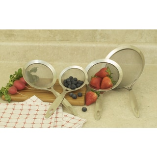 Professional Heavy Duty Stainless Strainer (Set of 4)