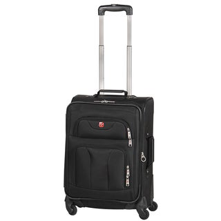 Swiss Gear Swiss Alps Collection 20-inch Carry On Expandable Spinner Upright