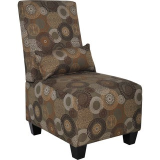 Serta Trinidad Copenhagen Slipper Sage Accent Chair