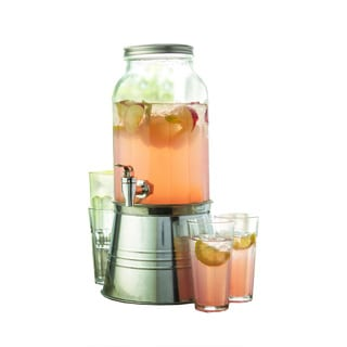 Style Setter Newport 6-piece Beverage Dispenser Set