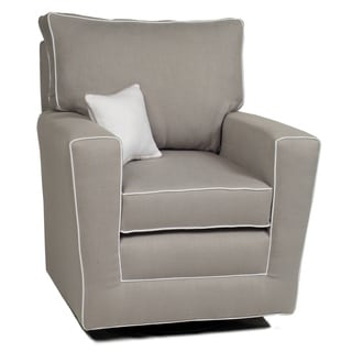 Little Castle's Countess Pebble Grey Swivel Glider