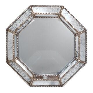 Studded/ Wood Wall Mirror