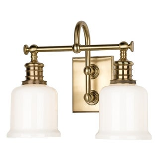 Hudson Valley Keswick Two-light Bath Bracket