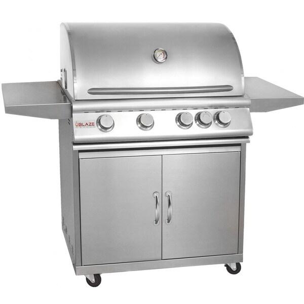 Blaze 32-inch 4-burner Gas Grill with Cart