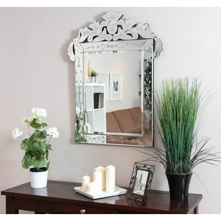 Christopher Knight Home Venetian Square Clear Mirror