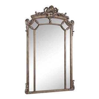 Christopher Knight Home Antique Silver Framed Mirror