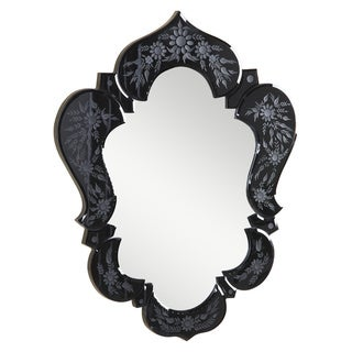 Christopher Knight Home Venetian Black Design Mirror