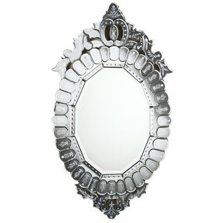Somette Venetian Oval Clear Mirror