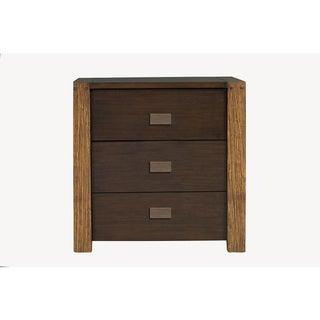 American Lifestyle Element 3 Drawer Nightstand