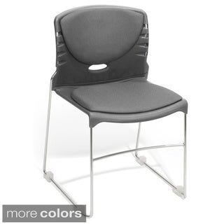 Multi-use Fabric Seat and Back Stacker Chairs (Set of 40)