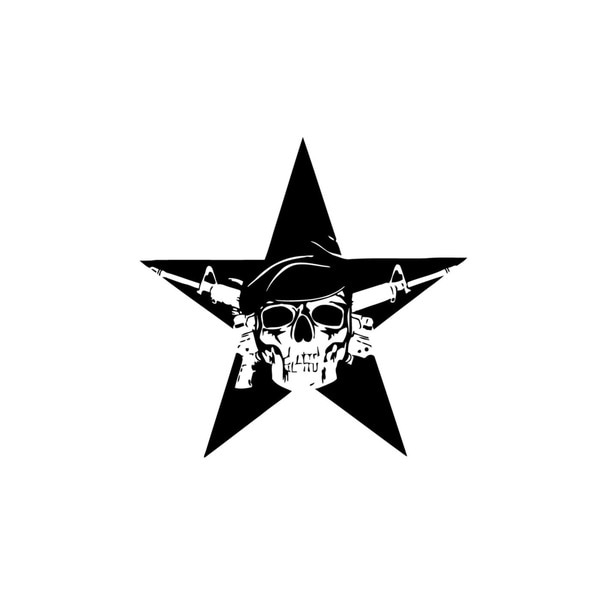 Special Ops Star Vinyl Wall Art