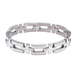 Titanium and Silver Bracelet