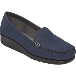 Women's A2 by Aerosoles Gondola Navy Faux Suede
