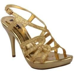 Women's Da Viccino Amy-32 Gold Heels
