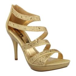 Women's Da Viccino Amy-34 Light Gold Heels