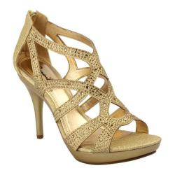 Women's Da Viccino Amy-35 Light Gold Heels