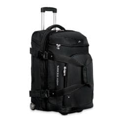 High Sierra 26-inch Expandable Wheeled Drop-Bottom Duffrite Black