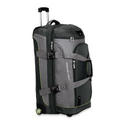 High Sierra 32-inch Expandable Wheeled Drop-Bottom Duffrite Graphite/Titanium