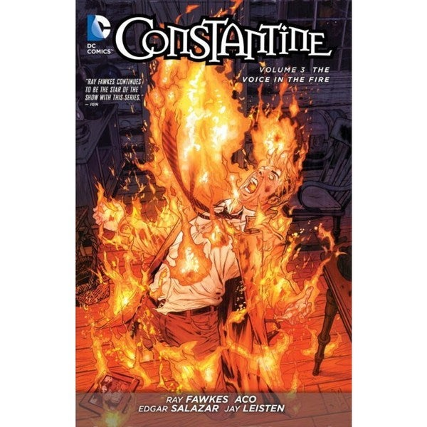 Constantine 3: The Voice in the Fire (The New 52!) (Paperback) 13102549