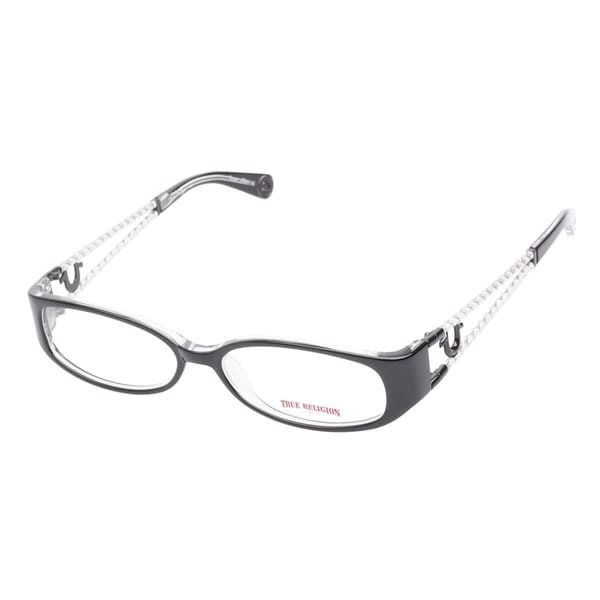 True Religion Ryder Black Crystal Prescription Eyeglasses