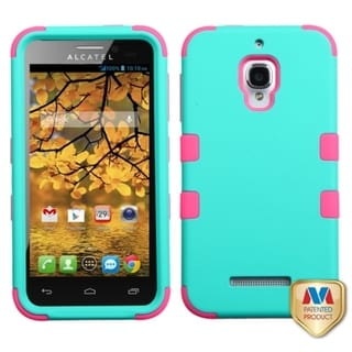 BasAcc Dual Layered Hybrid Case Cover for Alcatel One Touch Fierce 7024W
