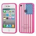 BasAcc Design Gel Stiff TPU Gummy Candy Skin Case Cover for Apple iPhone 4/4s