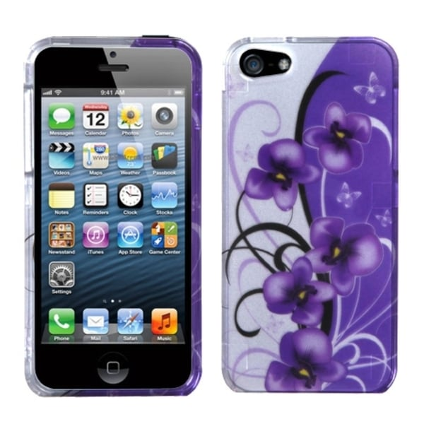 INSTEN Design Plastic Hard Plastic Snap-on Protector Phone Case Cover for Apple iPhone 5/ 5S