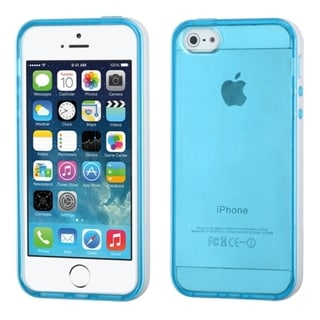 BasAcc Clear Gel Stiff TPU Gummy Candy Skin Case Cover for Apple iPhone 5/5s