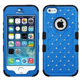 BasAcc Diamonds Dual Layer Hybrid Case Cover for Apple iPhone 5/5s