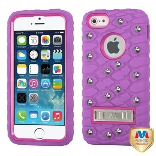 INSTEN High Impact Dual Layer Hybrid Phone Case Cover for Apple iPhone 5/ 5s