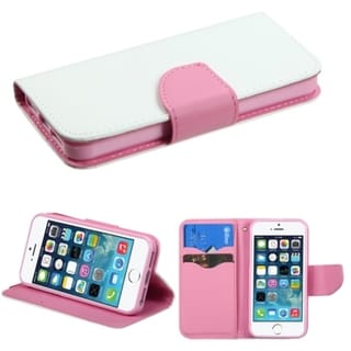 BasAcc Card Slots Colorful Book-style Leather Case for Apple iPhone 5/5s