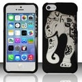 INSTEN Rubberized Design Plastic Hard Plastic Protector Phone Case Cover for Apple iPhone 5c