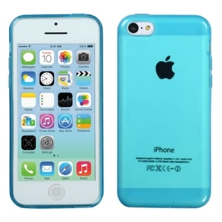 BasAcc Clear Gel Stiff TPU Gummy Candy Skin Case Cover for Apple iPhone 5C