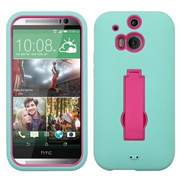 INSTEN High Impact Dual Layer Hybrid Phone Case Cover for HTC One 2 M8