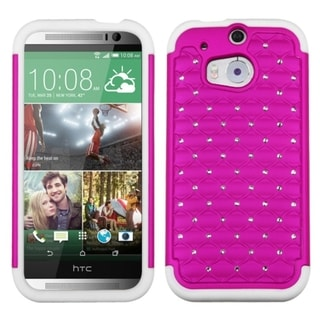BasAcc High Impact Dual Layer Hybrid Case Cover for HTC One 2 M8