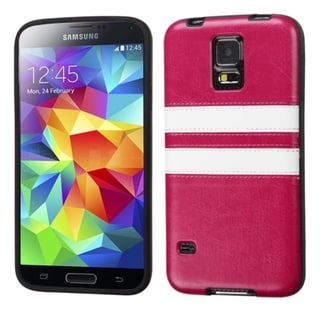 BasAcc Design Plastic Hard Snap-on Protector Case Cover for Samsung Galaxy S5