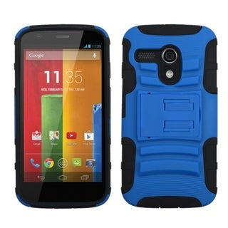 INSTEN High Impact Dual Layer Hybrid Phone Case Cover for Motorola Moto G